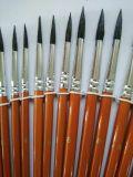 24PCS de houten Reeks van de Pen van de Borstel van de Kunstenaar van het Handvat