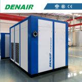 Впрыснутый маслом компрессор воздуха электрического двигателя неподвижный для печатной машины