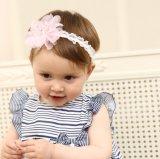 I capelli all'ingrosso della fascia dei capelli del fiore 2017 ornano gli accessori dei capelli del bambino di modo della fascia di Bowknot