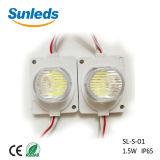 Super brillante buen precio de 3 años de garantía de la inyección de 1,5 W Módulo SMD LED módulo LED con lentes