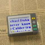 Handheld приведенная в действие батарея режимов цвета увеличителя 7 LCD цифров портативная пишущая машинка 3.5-Inch -