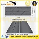 Stuoia di vendita calda Premium di yoga della gomma naturale dell'unità di elaborazione di Procircle