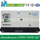 100kw 125kVA Cummins schalten Dieselgenerator mit schalldichtem mit der Wasserkühlung an