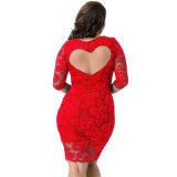 Платье оптового горячего шнурка вечера сбывания роскошного сексуальное