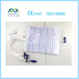 Steriler Urin-Wegwerfbeutel (Drücken-ziehenventil)