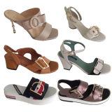 Ornamento hecho a mano del zapato de la dimensión de una variable de Y para señora Sandal Decoration