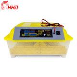 Hhd Transparent Mini-incubateur automatique complète 48 oeufs Ce approuvé