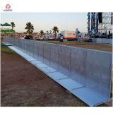 Restractableの障壁の円形の鋼鉄バリケードの歩行者の安全バリア