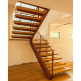 Sicherheits-Treppenhaus-Innenstahltreppen-gerades Treppenhaus
