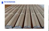 Cartucho de filtro de alta temperatura del PPS y de Nomex
