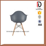 Silla de madera durable del plástico de la pierna del diseño moderno de los muebles