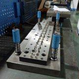 OEM Fabrikant 0.3mm het Stempelen van het Roestvrij staal van de Douane de Klem van de Lente met Plastiek