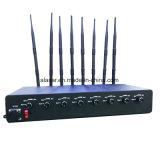 8CH 80W 힘 조정가능한 VHF, UHF 의 WiFi 이동할 수 있는 신호 방해기