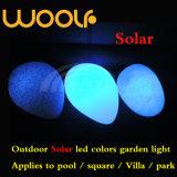 Bille solaire lumineuse par DEL imperméable à l'eau extérieure d'énergie légère de Woolf