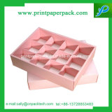 사탕과 건빵 호화스러운 서류상 선물 상자 분홍색 사랑 상자