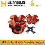 Arte Plástica Flower Pot do molde (HY074)