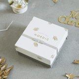 Картонная коробка для подарков дисплей/картонная упаковка бумаги чай в салоне
