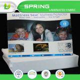 防水テリーのマットレスの保護装置の(二重)衛生学の快適な洗濯できる