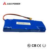 tipo 18650 batería del Li-ion de litio para la luz del LED/la luz de calle solar del LED