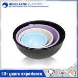 Kundenspezifische Größen-zweifarbige Melamin-Nahrungsmittelbehälter-Essgeschirr-Filterglocke