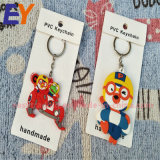 Feiertags-Geschenke weiches Gummischlüsselketten-Weihnachten Sankt Keychain Belüftung-Keychain