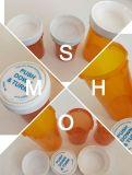 Mehrfachverwendbare kindersichere Phiole-umschaltbare Phiole-Verordnung-Plastikflasche