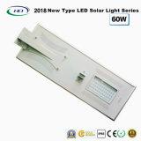 Tudo-em-um LED Solar Luz Rua 60W