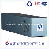 Oro personalizados cajas de embalaje de productos cosméticos de estampación en caliente