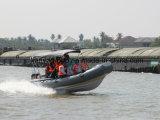 Liya 3.3-8.3m de la Chine bateau de patrouille militaire rigide bateau de sauvetage gonflable