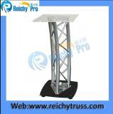Алюминиевая стойка речи с изогнутой ферменной конструкцией