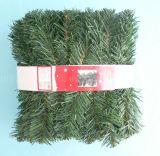 guirnalda del pino del verde de la Navidad del PVC de los 2.7m