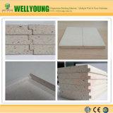 Mur de pierres sèches de panneau de mur de MgO de bord de superposition de la protection contre l'incendie 12mm