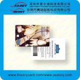 Cartão de PVC plástico impresso