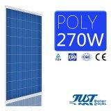 Цена Ex-Work 270W полимерная панелей солнечных батарей с маркировкой CE, TUV сертификатов