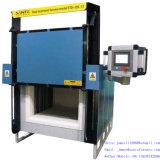 résistance 1200c industrielle durcissant le four à moufle pour le traitement thermique en acier