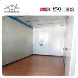 가벼운 강철 구조물 Prefabricated 경제적인 콘테이너 집