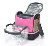 Sacchetto isolato picnic del di alluminio del dispositivo di raffreddamento della spalla di modo delle ragazze