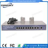 4+1 Kanälepoe-Netz-Schalter einschließlich 1 Uplink RJ45 (POE0410)