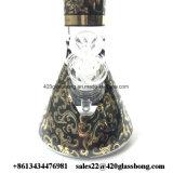 Schweres und starkes Glasbecher-Spitzenglaswasser-Pfeife 420