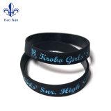 Nuovo Wristband personalizzato variopinto del silicone di vendita di marca