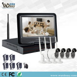 최신 판매 10.1 인치 LCD 스크린 CCTV WiFi NVR 1.0/1.3/2.0 MP IP 사진기 시스템