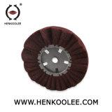 Rotella di lucidatura non tessuta della falda (colore del Brown)