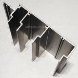 Profil en aluminium de l'Afrique avec le matériau de construction de couleur de Ral de couche de poudre