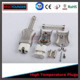 Connettore di ceramica a temperatura elevata della spina con le coperture di alluminio