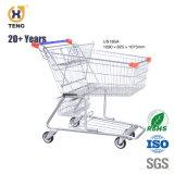 210L Grande Capacidade carrinho de compras com Assento do bebé