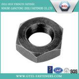 Noix principales de Hexgon de la pente DIN934 4.8 avec de l'acier du carbone