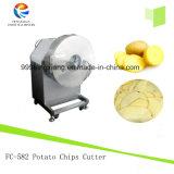 Коммерчески тип картофельные стружки автомат для резки, ломтики картошки делая машину