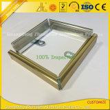 Marco de aluminio sacado aplicado con brocha brillante para los cuadros/las fotos