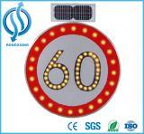 Poteaux de signalisation solaires d'ampoule de DEL