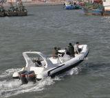 Liya 7.5m het Jacht van de Luxe van Hull van de Glasvezel van de Boot van de Rib van het Genoegen